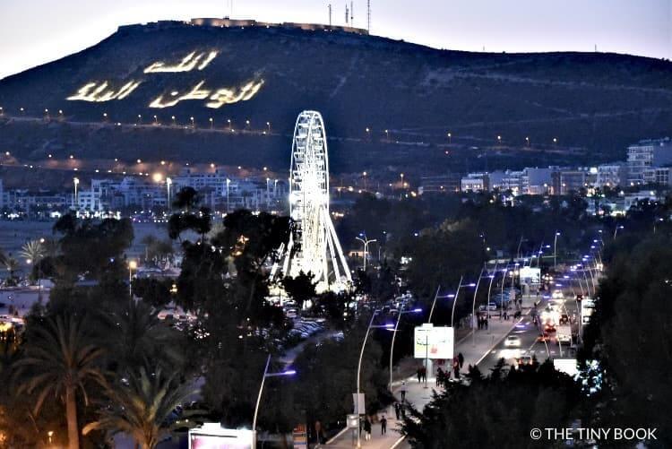 Agadir city, Morocco.