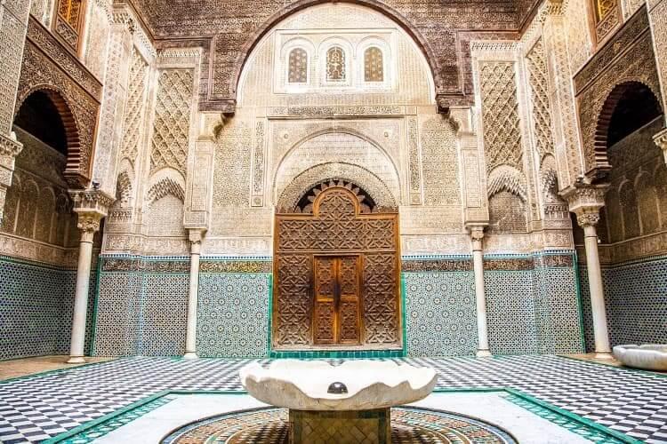 Madrasa Al Attarine Fez Morocco
