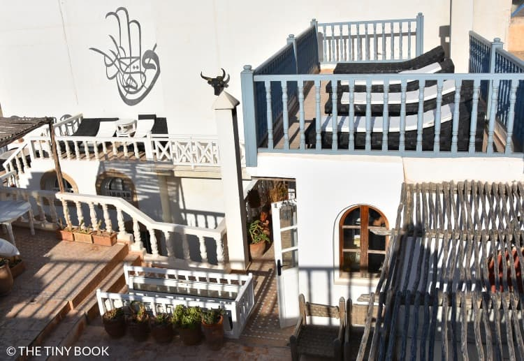 Rooftop riad, Essaouira, Morocco.