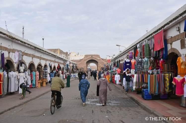 Markets in Essaouira, Morocco