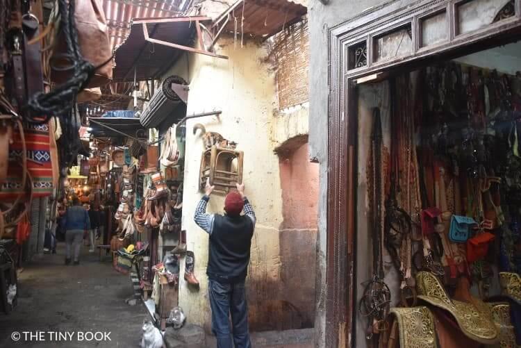 Souk of Marrakech.