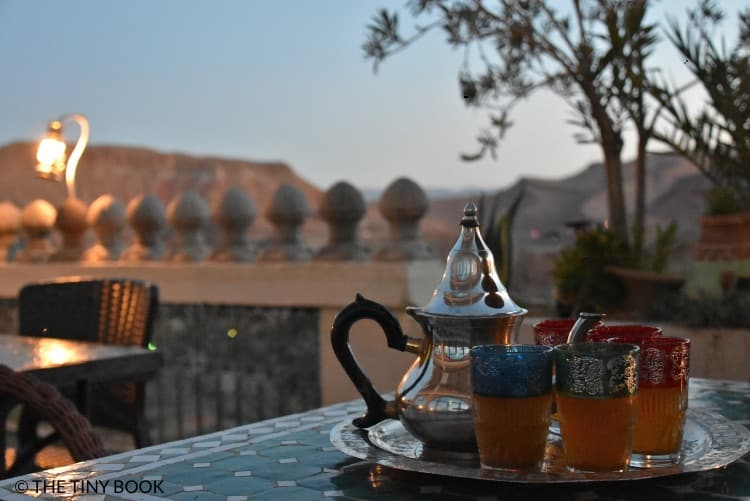 Tea from Morocco.