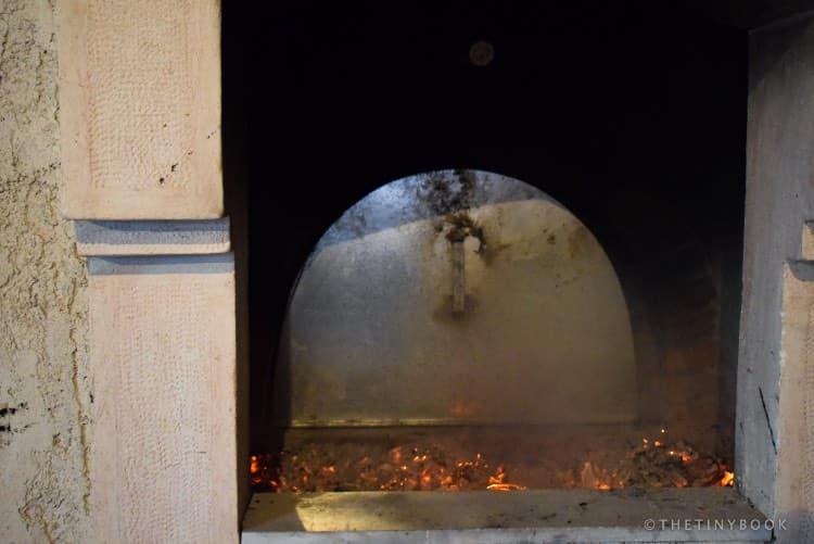 wood oven, Crete.