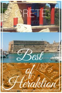 The Best of Heraklion: Discover all the things you can do in the capital of Crete. One of the most magnificent islands. Greece