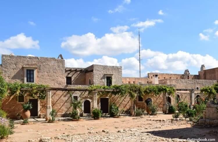 Arkadi Monastery Rethymno, Crete