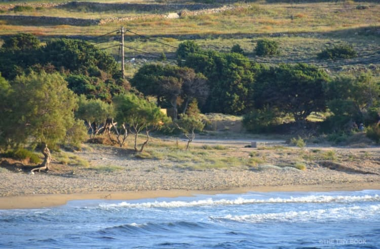 Sifneiko Beach, Antiparos island.