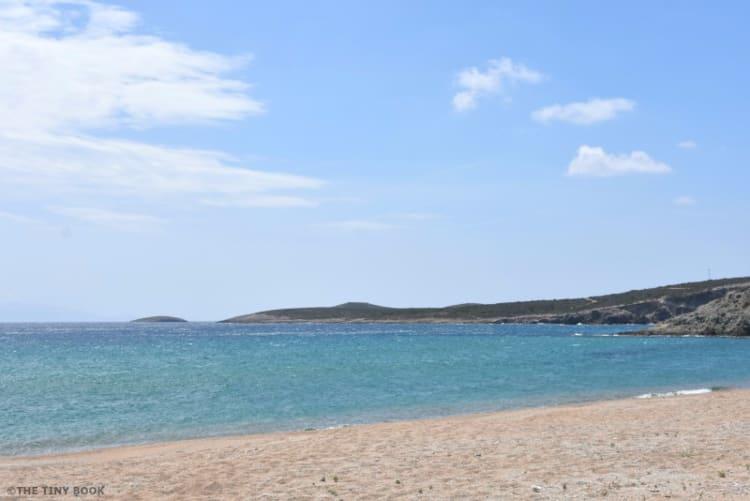Beach in the island of Antiparos - Greece
