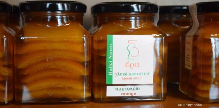jam from Naxos island