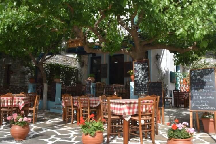 Taverna in Filoti, Naxos