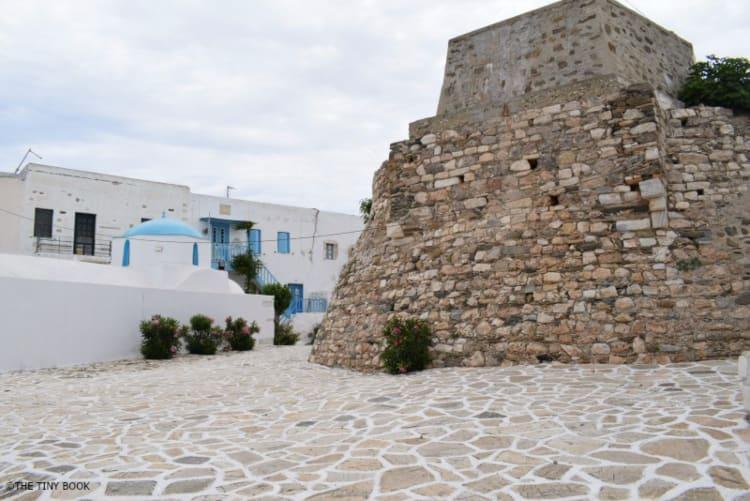 The tiny Kastro of Antiparos island, Greece.