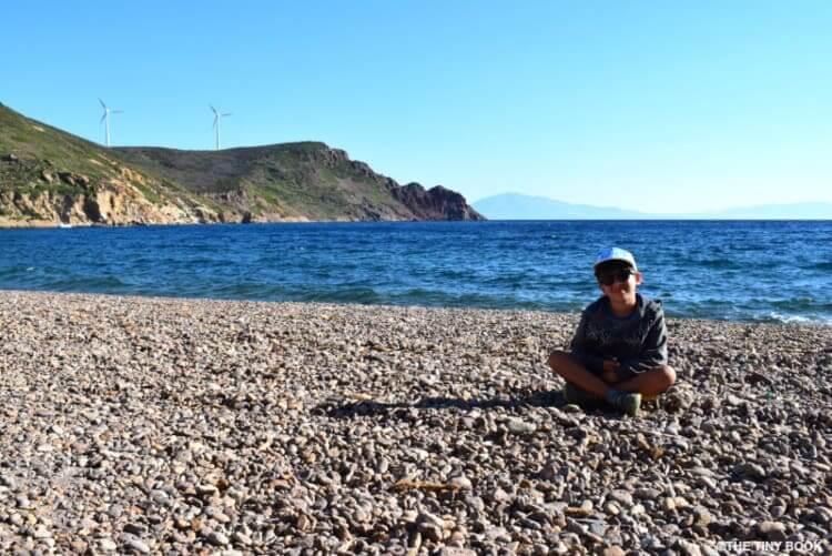 Lambi beach, Patmos island.