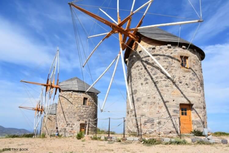 Greek Windmills, Patmos.