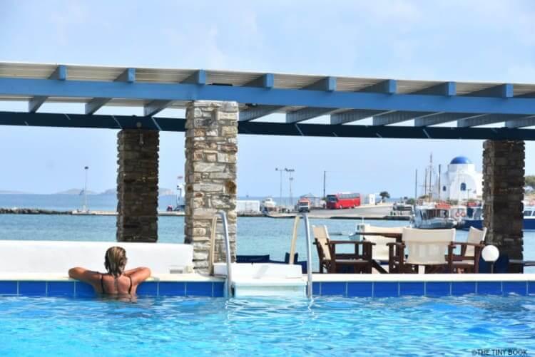 Swimming pool, Kuros Village, Antiparos island, Greece