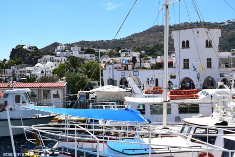 Skala, Patmos island.