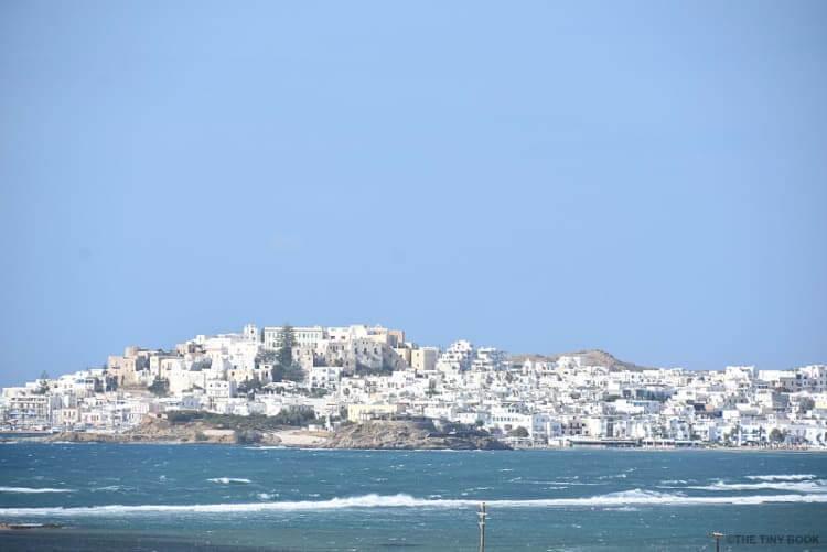 Naxos island, view