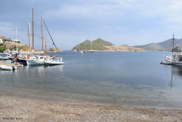 Grikos. Patmos island