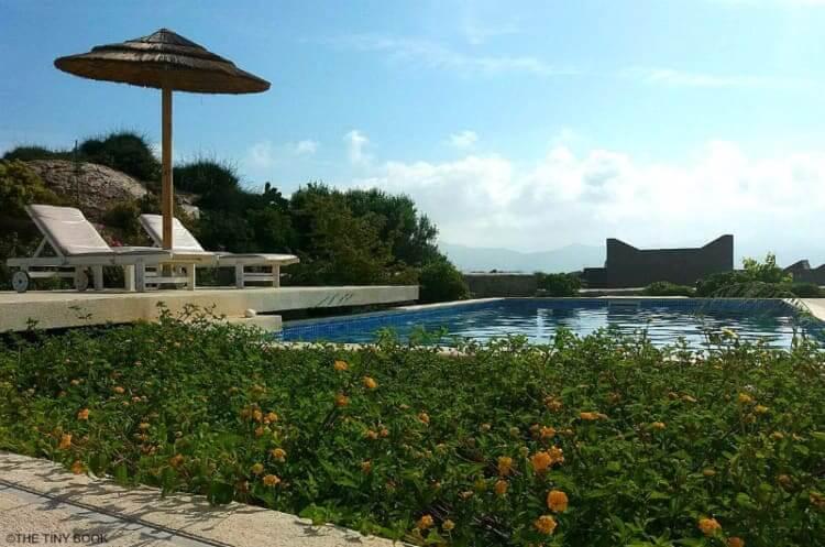Pool, villas in Naxos