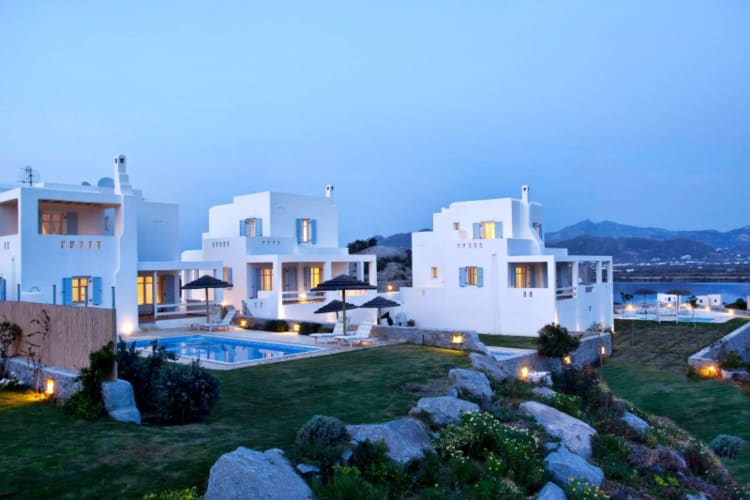 Villas of the Naxian Luxury Collection in Naxos island, Greece