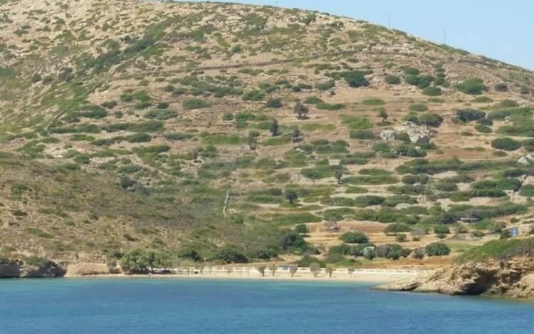 Kampos beach, Lipsi, Dodecanese.