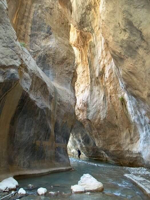 Sarakinas gorge Ierapetra, Crete