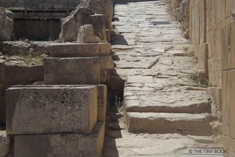 Stone pavement - Knossos - Crete