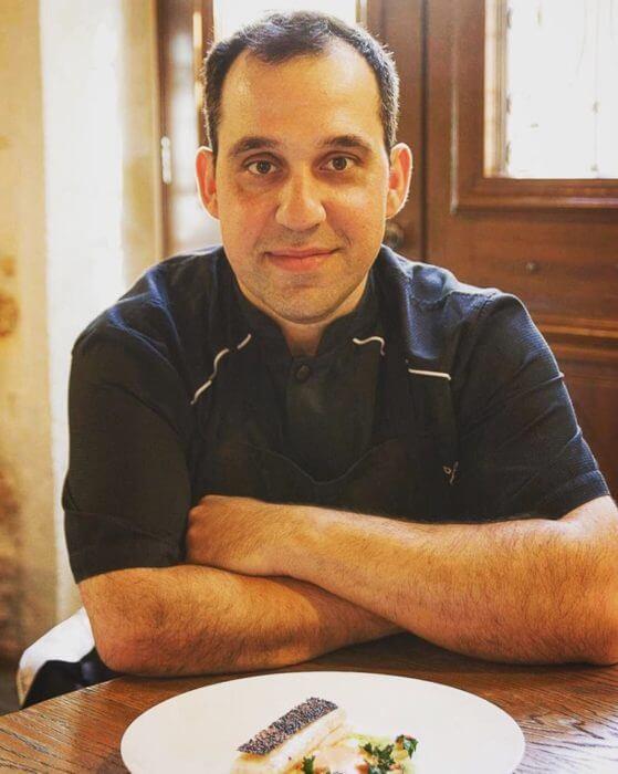 Chef Iosif Petrof, Serenissima restaurant, Chania