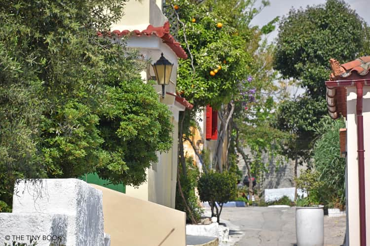 Anafiotika in Athens