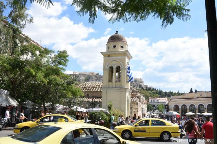 Monastiraki Square.