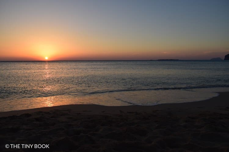 Sunset, Falasarna, Crete.