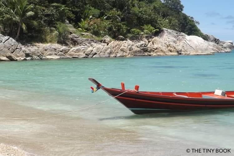 Long tail boat, Koh Phangan, Thailand (Southeast Asia)