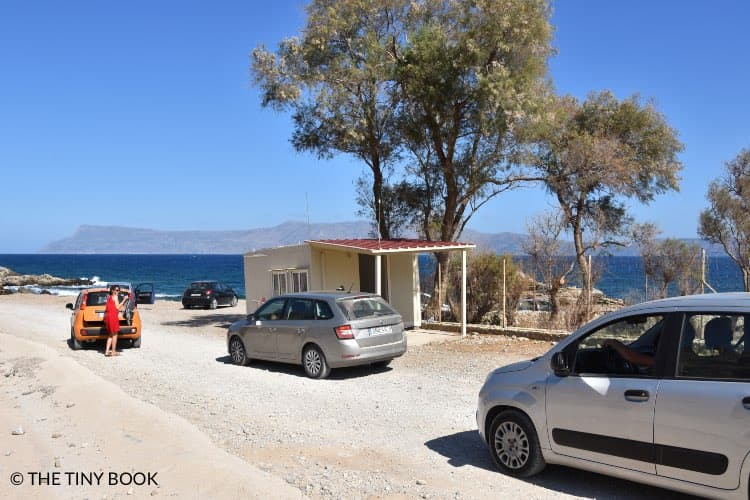 Booth to pay to enter Balos