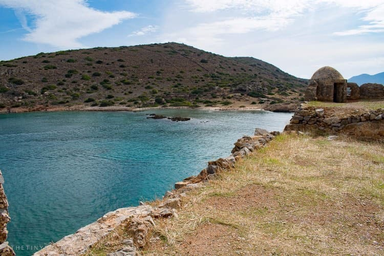 The former leper colony of Spinalonga, Crete.